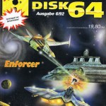 Enforcer Commodore 64 cover