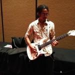 Akira Yamaoka Plays Fan Guitar Live 09-02 2