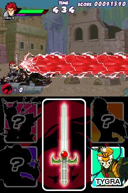 Thundercats Video Game on Thundercats Nintendo Ds Video Game Screenshot 1