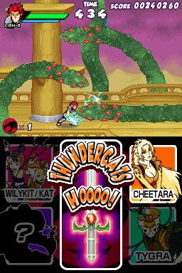 Thunder Cats Video Game on Thundercats Nintendo Ds Video Game Screenshot 4