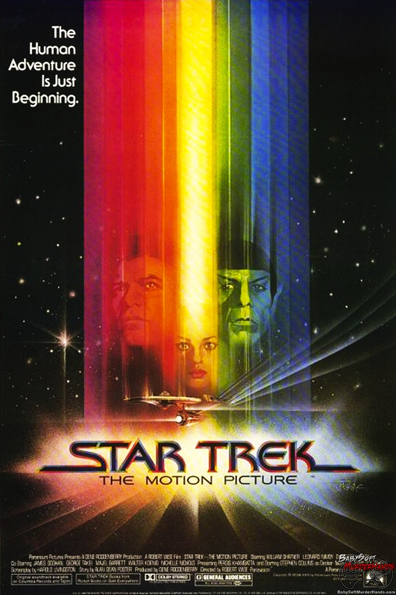 Movies for Gamers Star Trek The Motion Picture Poster