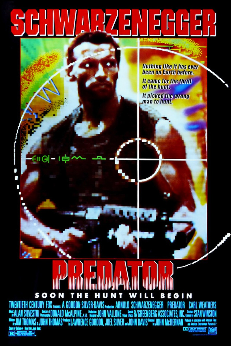 Predator 1987 Poster Movies for gamers