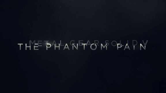 The Phantom Pain Metal Gear Solid 5 Logo