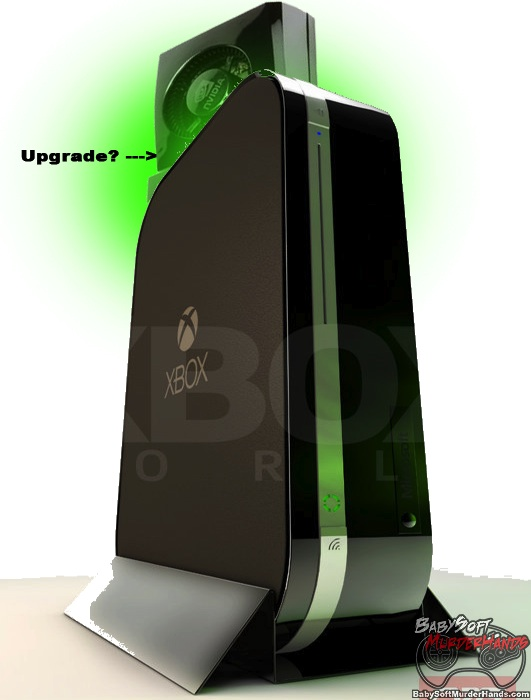 Xbox 720 Playstation 4 Upgradeable Mockup