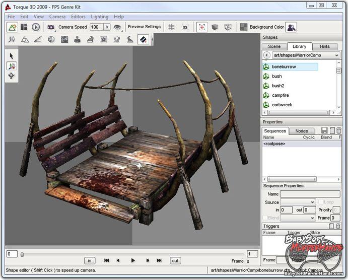 GarageGames Indiegogo Torque 3D Port to Linux