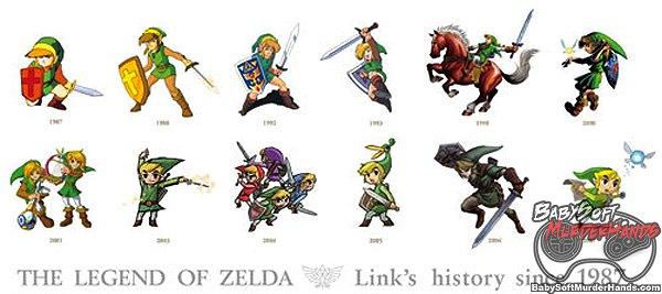 History of Link Zelda