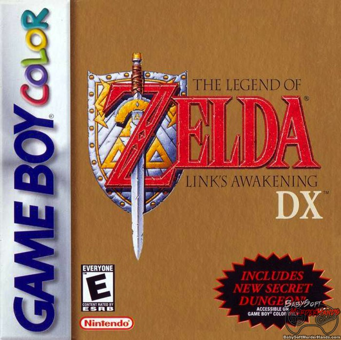 Legend of Zelda Links Awakening DX Cover