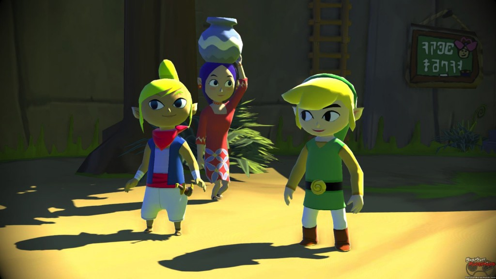 Legend of Zelda Wind Waker Wii U Remake HD Remaster Screenshot 5