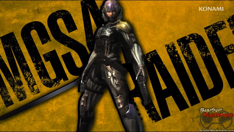 Meta Gear Rising MGS 4 Raiden Costume DLC