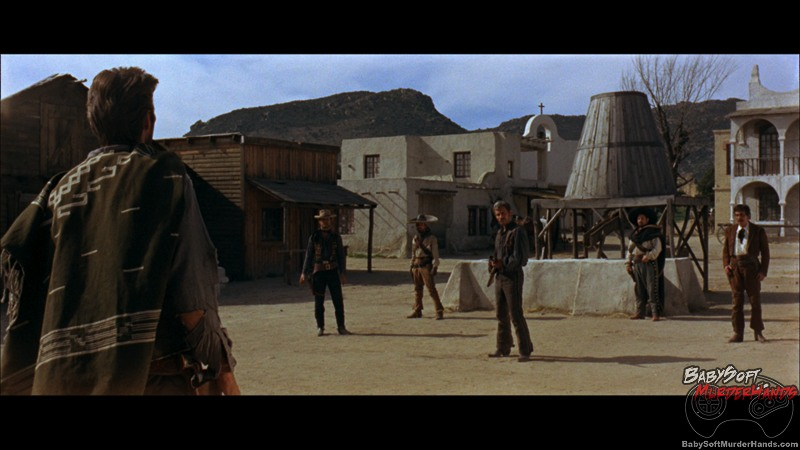 Movies For Gamers A Fistful of Dollars scene