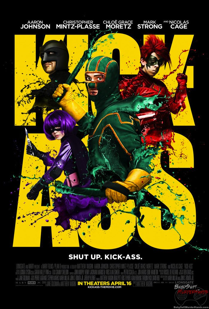 Movies For Gamers Kick-Ass poster
