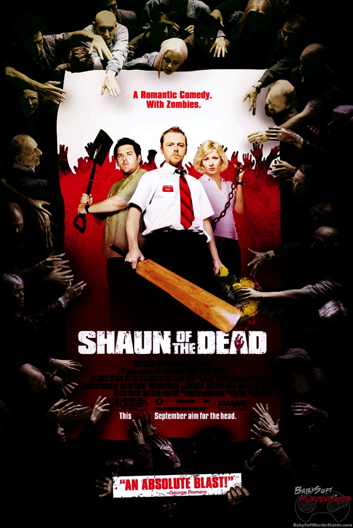 Movies for Gamers Shaun of the Dead poster
