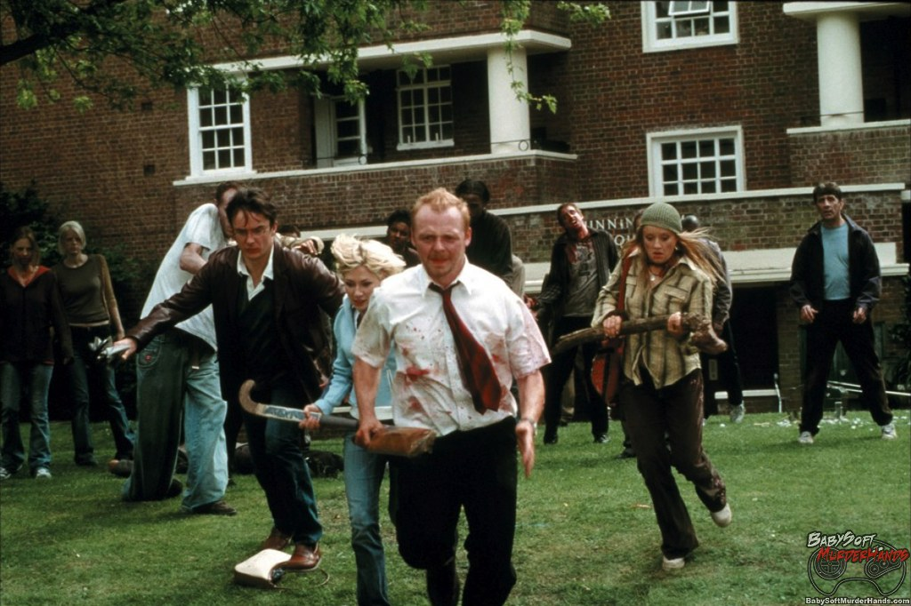 Movies for Gamers Shaun of the Dead scene