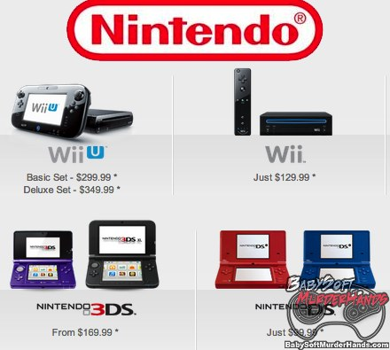 Nintendo Consoles Release Dates 2013
