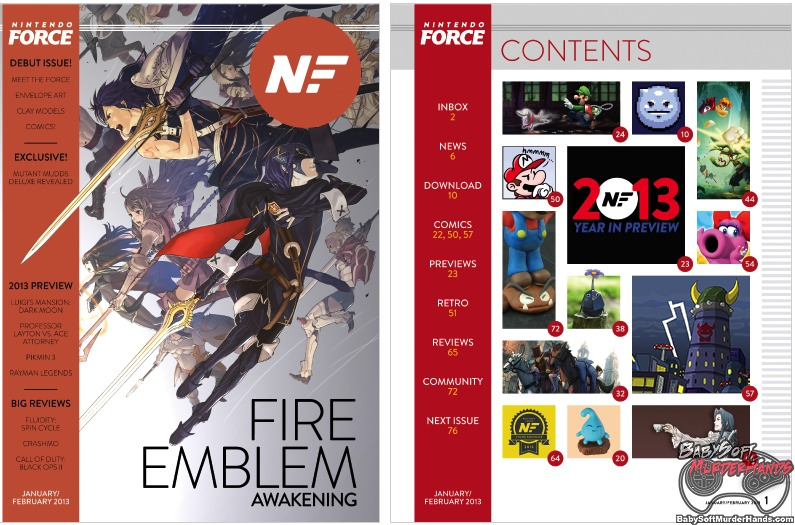Nintendo Force Issue 1 Magazine Cover