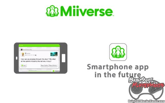 Nintendo Miiverse Smartphone Android iPhone app