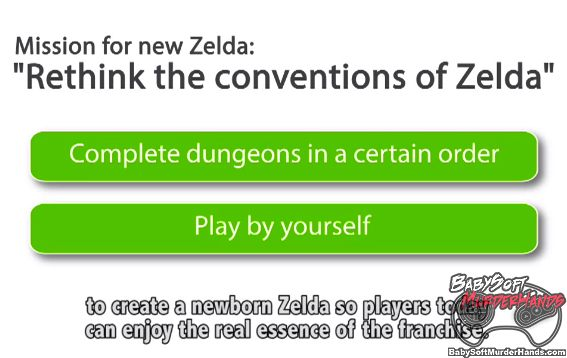 Nintendo Wii U New Legend of Zelda