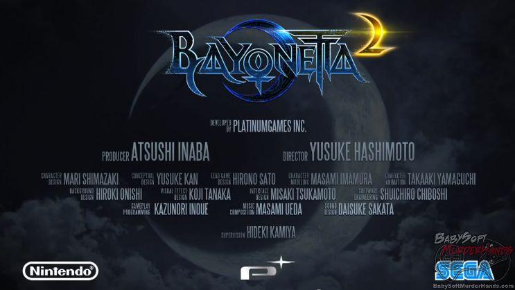 Nintendo Wii U Platinum Games Bayonetta 2 Sega