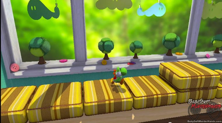 Nintendo Wii U Yarn Yoshi