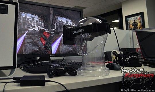 Oculus Rift VR HMD