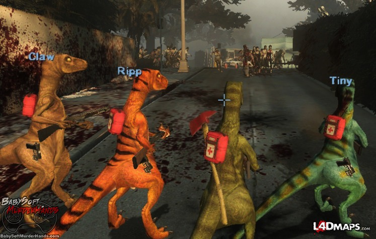 RaptorLeft4Dead2ModSteamWorkshop