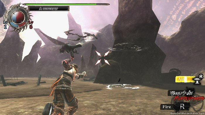 Soul Sacrifice Playstation Vita screenshot 1