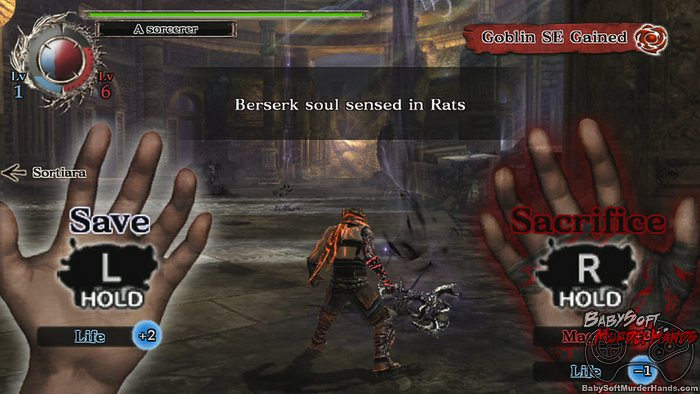 Soul Sacrifice Playstation Vita screenshot 2