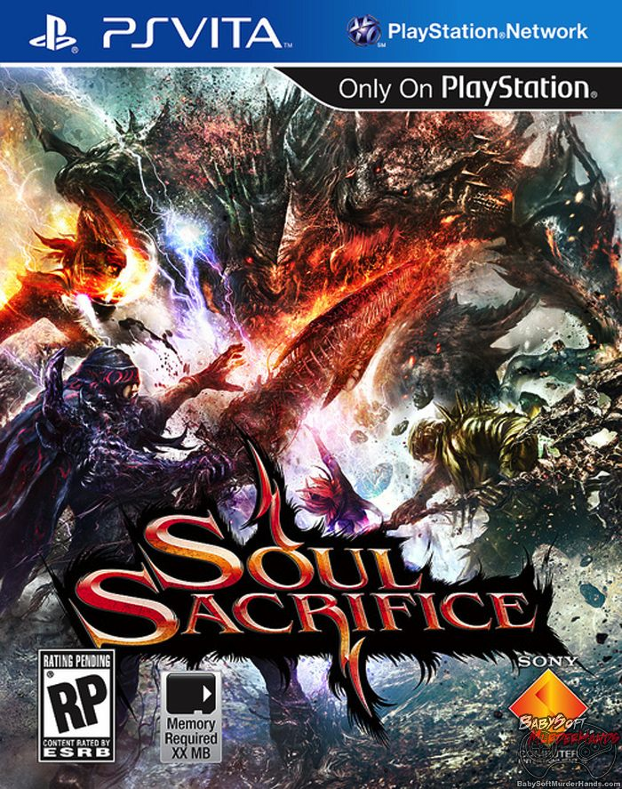 Soul Sacrifice US Box Art Playstation Vita