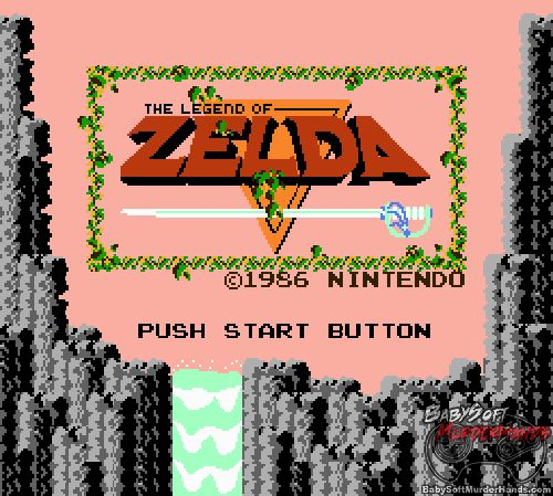 Zelda on Wii U NES Title