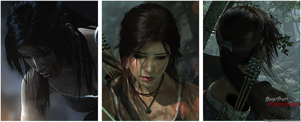 AMD TRESSFX Tomb Raider Lara Croft Hair 2