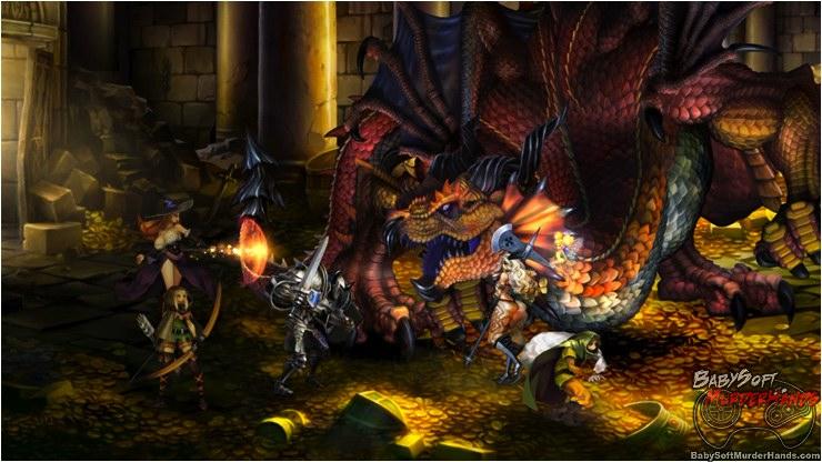 Dragon's Crown Vanillaware Atlus screenshot 1