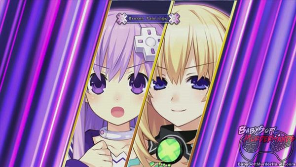 Hyperdimension Neptunia Victory Screen Shot