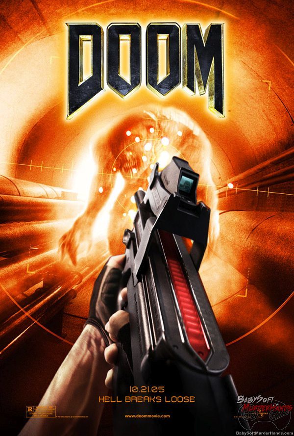 Movies for Gamers Doom film poster