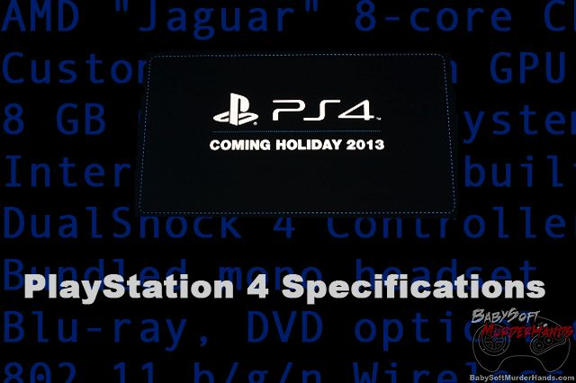 Playstation 4 Announced- PS4 Specs & Details (Comprehensive)