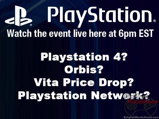 Watch Sony Playstation Meeting 2013