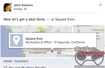 john romero square enix
