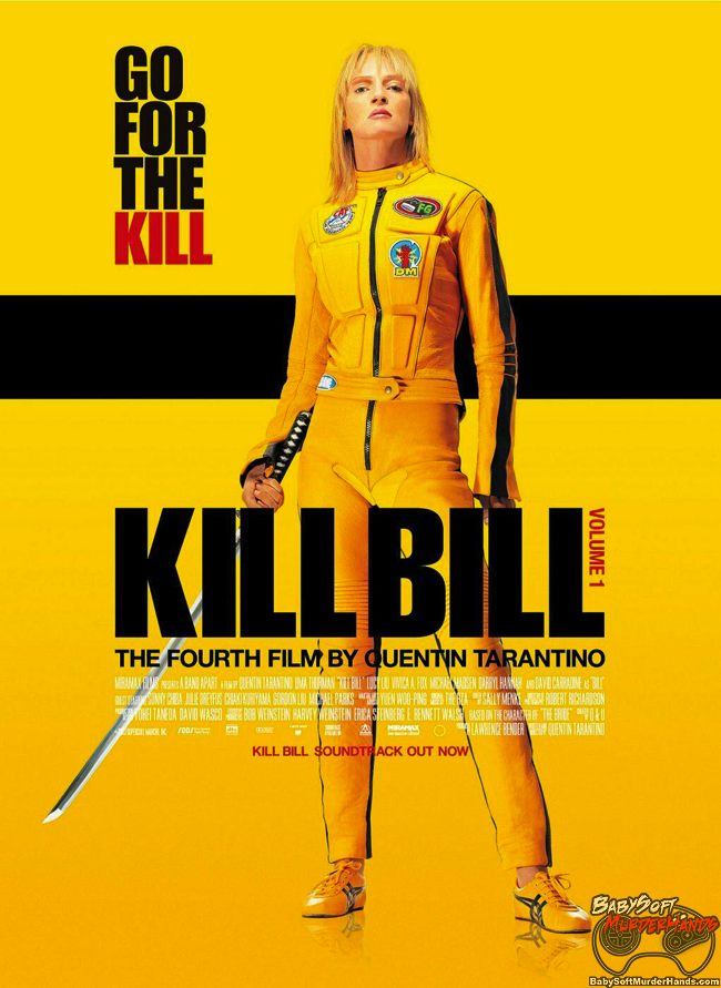 movies for gamers kill bill poster