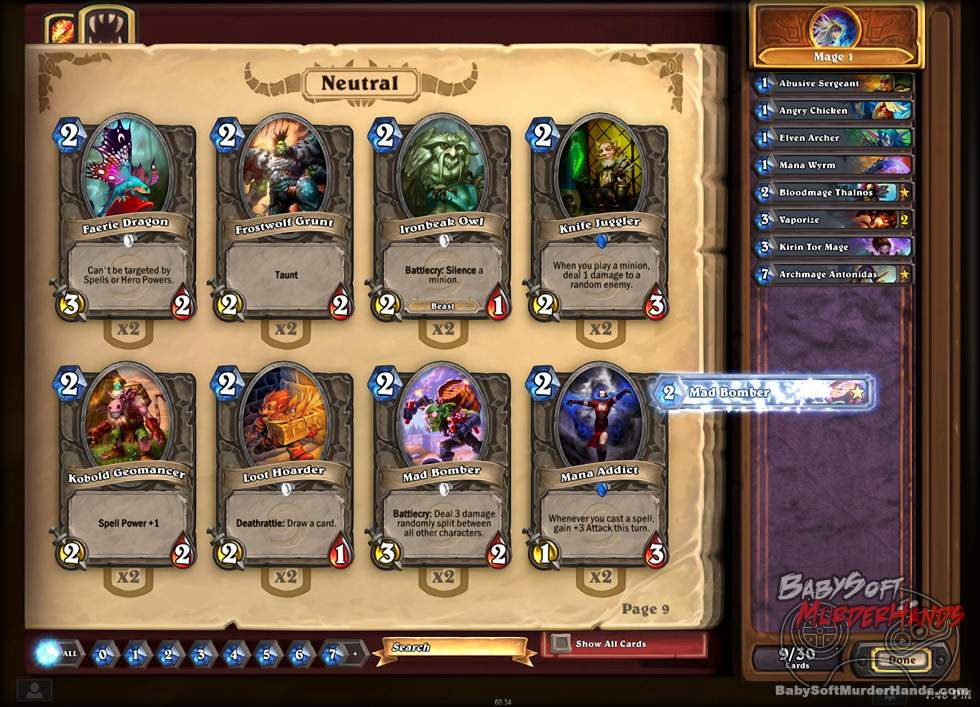 Blizzard Hearthstone Heroes of Warcraft CCG screenshot 2