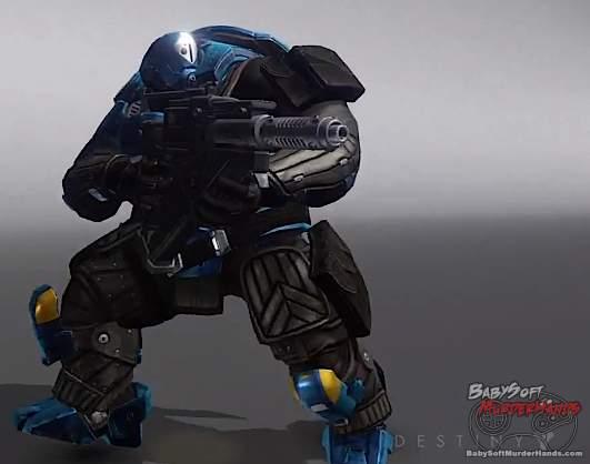 Bungie Destiny character art models Cabal