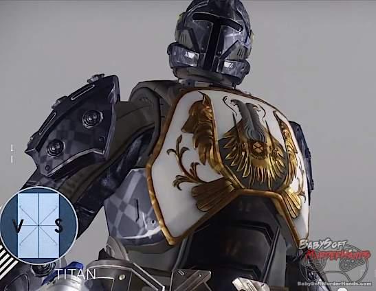 Bungie Destiny character art models Titan