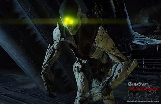 Bungie Destiny character art models