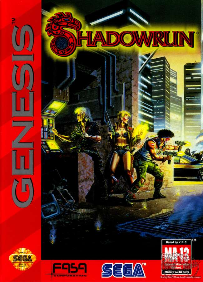 Cover Art Shadowrun Genesis