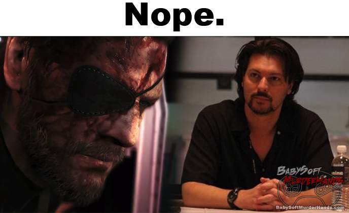 David Hayter MGS 5 Snake Voice