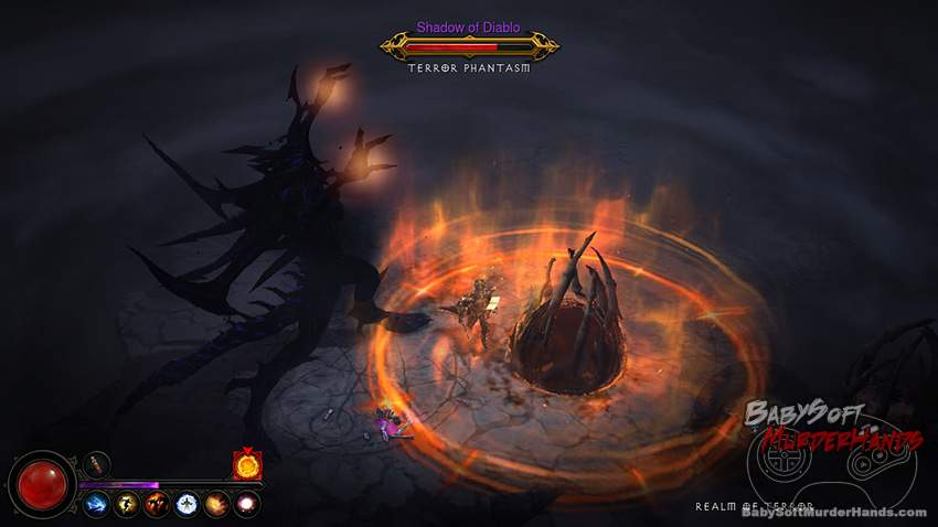 Diablo 3 PS3 console screenshot 2
