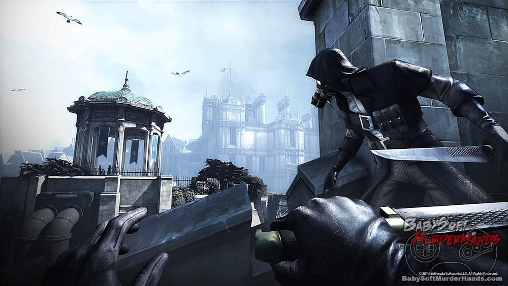 Dishonored The Knife of Dunwall DLC screenshot