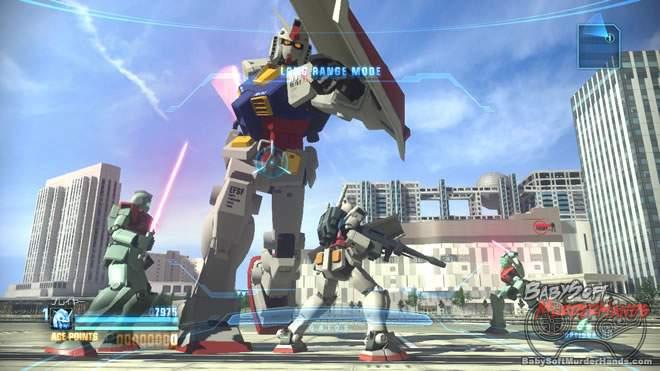 Gundam Breaker namco bandai ps3 vita 1