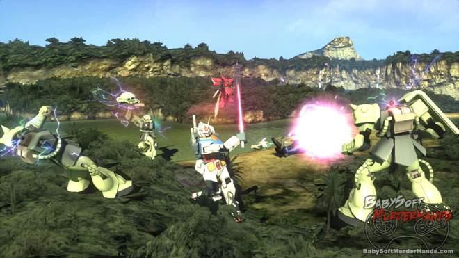 Gundam Breaker namco bandai ps3 vita 2