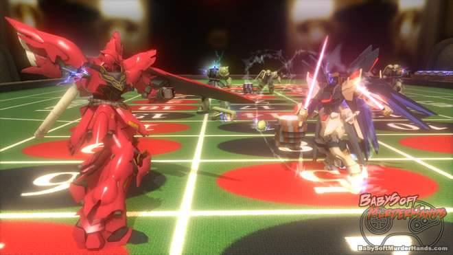 Gundam Breaker namco bandai ps3 vita 3