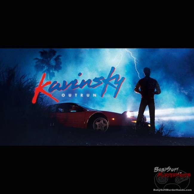 Kavinsky's OutRun Album Art
