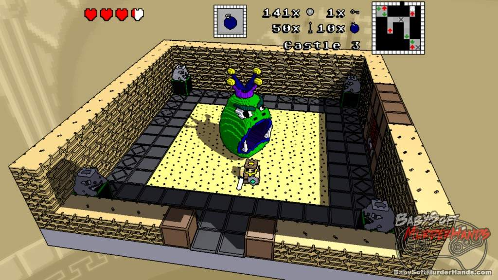 King Voxel Inspired Zelda Minecraft screenshot 2